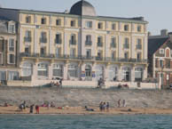 hotel with sea view kyriad_plage_st_malo