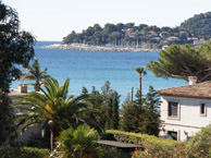 hotel with sea view les-eucalyptus-cavalaire