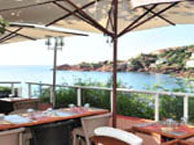 hotel with sea view les-flots-bleus-agay-saint-raphael