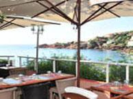 hotel vue mer les-flots-bleus-agay-saint-raphael
