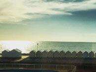 hotel vue mer les-galets-bleus-cayeux-sur-mer