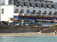 hotel with sea view les-rochers-carnac