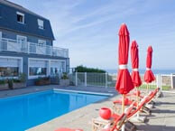 hotel with sea view les_isles_carteret