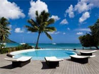 hotel with sea view maitai-huahine