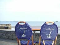 hotel with sea view marine-arromanches