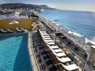 hotel with sea view meridien_nice