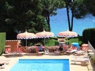 hotel with sea view pinede-ajaccio