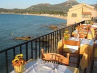 hotel with sea view plage-algajola