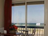 hotel with sea view plage-barcares