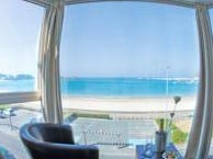 hotel with sea view plage-erquy