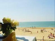 hotel with sea view plage-hossegot