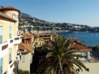 hotel with sea view provencal-villefrance