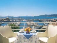 hotel with sea view rabelais-lavandou
