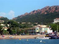 hotel with sea view relais-agay