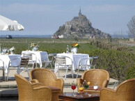 hotel with sea view relais_st_michel_mont