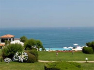 hotel with sea view reserve_st_jean_luz