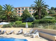 residence-beach-cavalaire chez booking.com