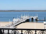 hotel with sea view richelieu-arcachon