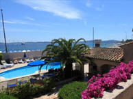 hotel with sea view santolines-ste-maxime