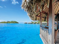 hotel with sea view sofitel-bora-bora-private-island