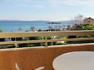 hotel with sea view tamaris-lavandou