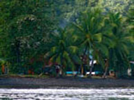tauhanihani-village-lodge-la-vague-bleue-tahiti chez booking.com