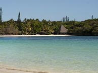 hotel with sea view tera-beach-caledonie