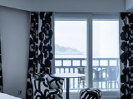 hotel with sea view thalasso-blanco-hendaye
