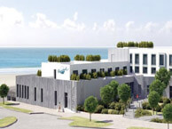 hotel with sea view thalasso-donville