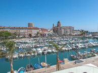 hotel with sea view touring-saint-raphael