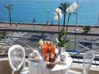 hotel with sea view vanille-cagnes