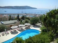 hotel with sea view versailles-villfranche