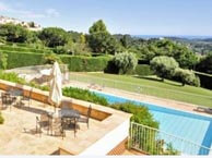 hotel with sea view villa-st-maxime-vence