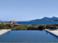 hotel with sea view villa_calvi