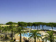 hotel with sea view village-des-isles-taglio