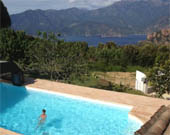 Apartment with sea view Piana