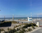 location appartement vue mer Hardelot-Plage