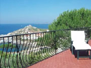 Apartment in house with sea view Calvi