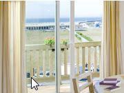 Apartment with sea view Deauville