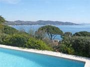 location Maison vue mer Sainte-Maxime