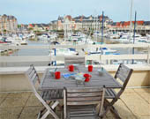location Appartement vue mer Cabourg