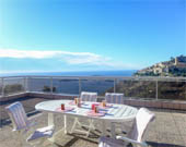 location Appartement vue mer Eze