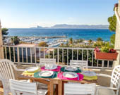 Apartment with sea view Saint-Cyr-sur-Mer