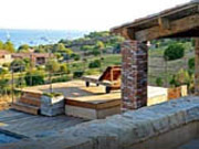 House with sea view Piana