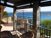 House with sea view Corbara