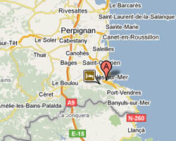 seaside map argeles_sur_mer