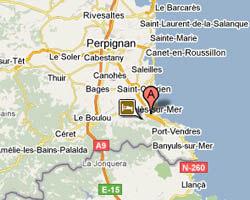 Ferienhäuser am meer Argelès-sur-Mer