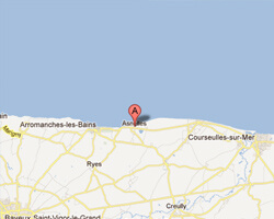 carte littoral asnelles