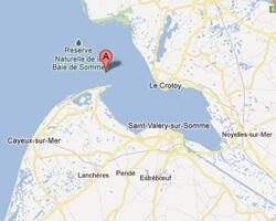 Ferienhäuser am meer Bucht der Somme