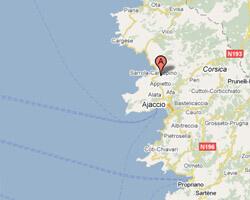 image map Calcatoggio